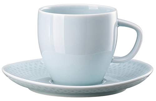 Rosenthal 10540-405204-14740 Junto Opal Green Kaffeetasse 2tlg. (1 Obertasse & 1 Untertasse)