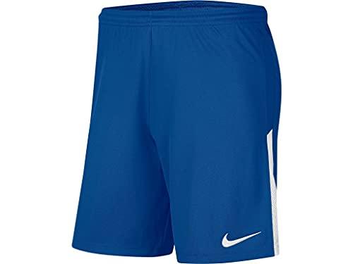 NIKE Dry Lge Knit II Pantalones Cortos de Deporte, Azul Real/Blanco/Blanco, 13-15 años Unisex niños
