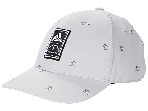 adidas Golf Golf Men's Fashion Snapback Hat, Grey, One Size Fits Most