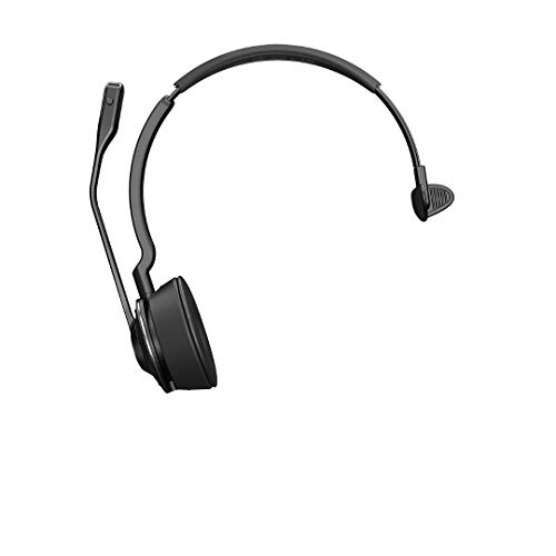 Jabra Engage 75 Mono Wireless-Profi-Headset mit DECT/Bluetooth für 5 Endgeräte (Softphone/Festnetz- + Analog-Telefon/Handy/Tablet), inkl. Ladeschale