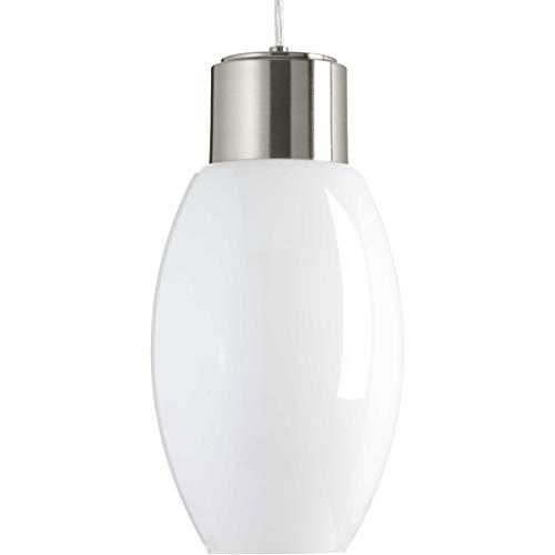 TrulyCoastal 30328-BNGO Diamond Head LED Brushed Nickel Pendant Ceiling Light, Progress LED