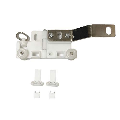 ABALON Corredera Articulada para Riel Motorizado Curvo, Curvas de 95º y 135º para Cortinas de Mirador o Cerramiento, Cortinas Eléctricas