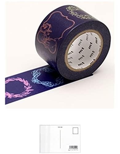 カモ井加工紙 マスキングテープ mt ex メッセージカード MTEX1P142 【まとめ買い 3 パック 】 + 画材屋ドットコム ポストカードA