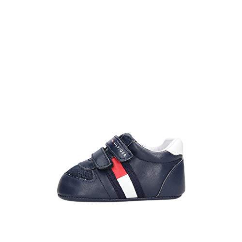 Tommy Hilfiger Velcro Kinder Sneaker Blau