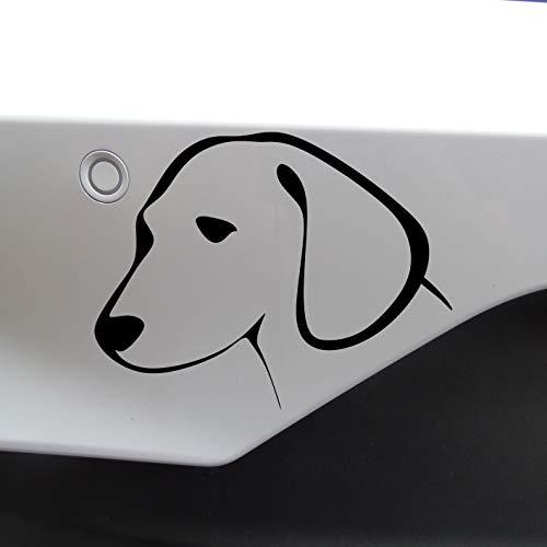 DKISEE Novedad perro / cachorro luz interruptor //coche pegatina 6 pulgadas