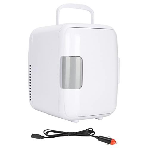 Mini refrigerador, fácil de operar, económico y respetuoso con el medio ambiente Mini refrigerador 4L Diseño ergonómico Mango humanizado para el hogar para el automóvil