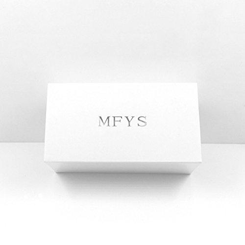 MFYS『Jewelry編み込みレザーカフス』