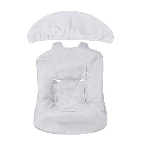 Tuc Tuc Love - Mini colchoneta y capota, unisex, color gris