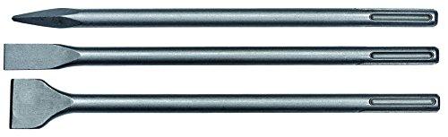 einhell 4258101 Set 3 Scalpelli SDS Max, Alluminio, Set di 3 Pezzi