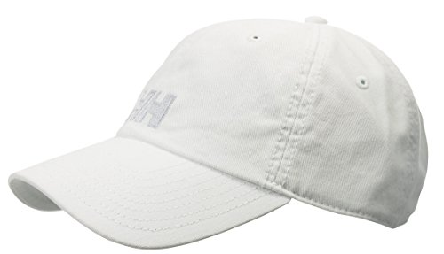 Helly Hansen LOGO CAP – Unisex Kappe für jede Gelegenheit – Einfarbige Cappy mit Logoaufdruck – Snapback Schirmmütze individuell größenverstellbar