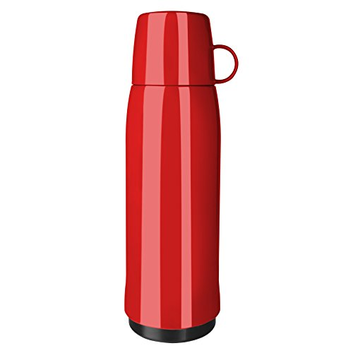 Emsa 518517 thermosfles, rood, 10,5 x 10,5 x 32 cm