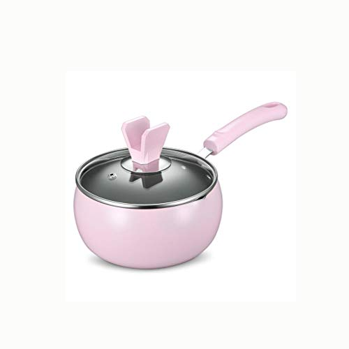 SCRFF Milch Pfannen Aluminium Stockpot Baby-Suppe Milch Pot Kochen Pan Non-Stick Skillet Multifunktionale Kochtopf Küche Kochgeschirr for Gasherd