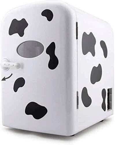 SHUNFENG-EU Guter kompakter Mini-Kühlschrank Trennen Kühlschrank, Kleiner Kühlschrank Haushaltsreinigungswagen 4 Liter 12V220-240V Mini-Kühlung heiß