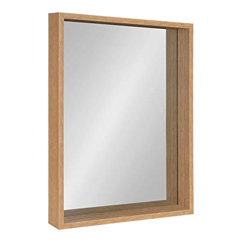 Kate and Laurel Rockwood Framed Wall Mirror, 23x29, Natural Light -