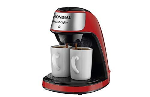 Cafeteira Elétrica Mondial, Smart Coffe, 127V, Vermelho, 500W - C-42-2X-RI