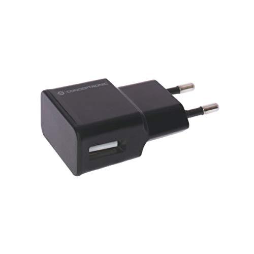 Conceptronic Cargador 5V USB POWER2GO Pared Negro Pack 5