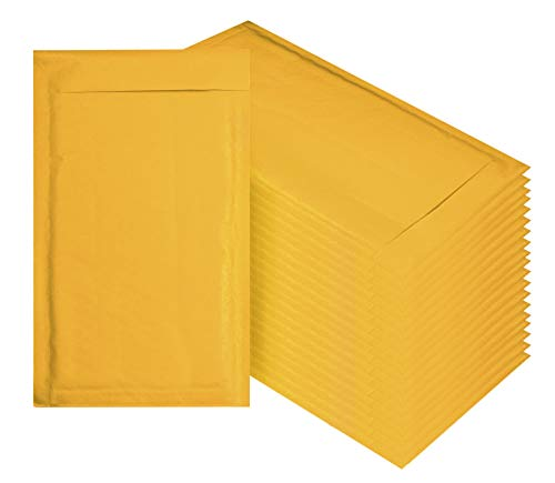 Amiff Kraft Bubble mailers 6x9 Padded envelopes 6 x 9. Exterior Size 7x10 (7 x 10). Peel & Seal. Mailing & Shipping & Packing & Packaging. Pack of 10 Kraft Paper Cushion envelopes.