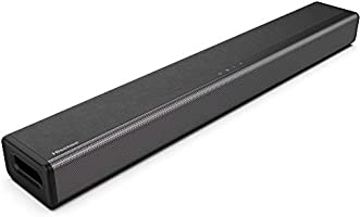 Hisense HS214 2.1ch Soundbar with Built-in Subwoofer, 108W, All-in-one Compact Design with Wireless Bluetooth, Powered...
