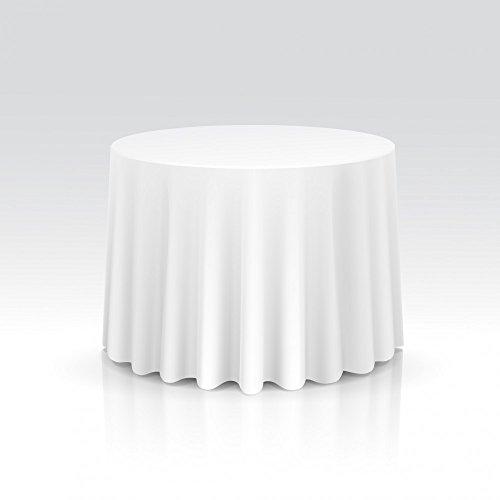 TexDeko Runde Tischdecke für Banketttische MAMBER Ø 260cm