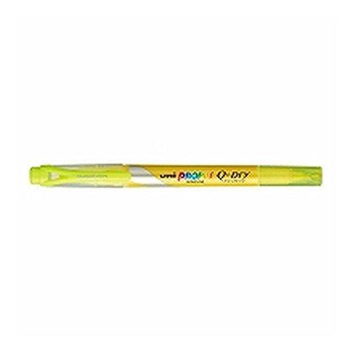 三菱鉛筆 蛍光ペン プロパス・ウインドウ クイックドライ イエロー PUS-138T.2 【 3セット】