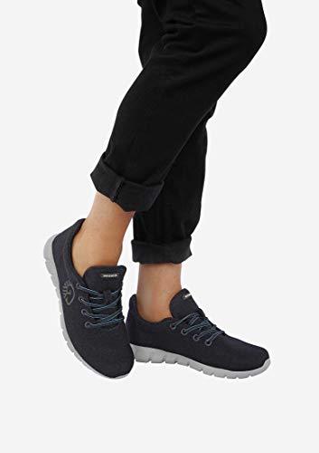 Giesswein GIESSWEIN Woll-Sneaker Merino Runners Men - Atmungsaktive Sneaker für Herren aus 100% Merino Wolle, Sportliche Schuhe, Halbschuh, Freizeitschuh, Herrenschuhe