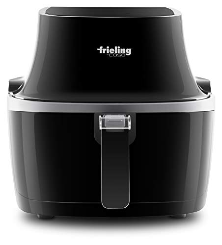 Frieling 5002 Electric Low-Fat Fryer with Advanced Hot Air Circulation Technology, 4.6 Quart, Black