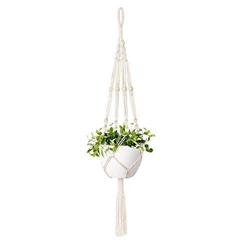 JieGuanG - Grucce per piante, 1 pezzo in corda di iuta per decorazioni da interni ed esterni