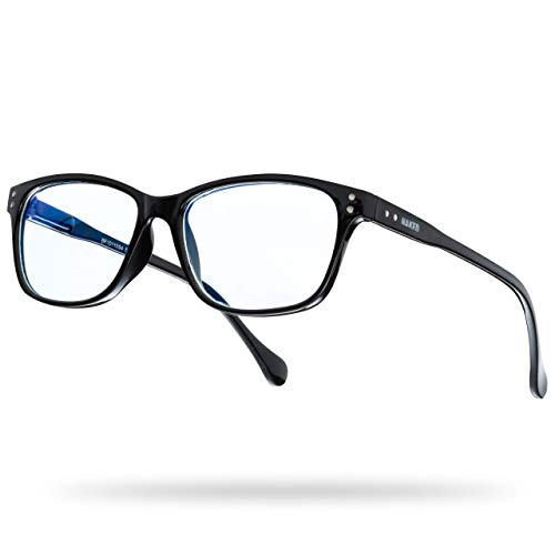 NAKED Optics Blaulichtfilter Brille (Ace, Schwarz)