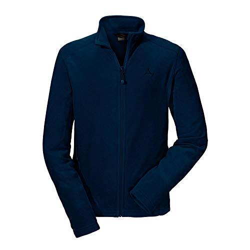 Schöffel Herren Fleece Jacket Cincinnati2 leichte und flexible Outdoor Jacke für Männer warme Herrenjacke, Blau (night blue), 54 EU