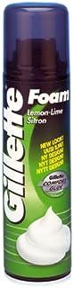 Gillette Lemon Lime Classic Shaving Foam, 200 ml