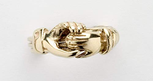 Ladies 3 Band Claddagh Puzzle Ring 3CL