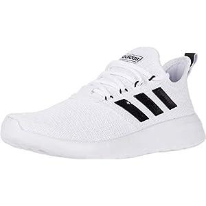 adidas Men's Lite Racer Reborn White/Black/Grey 12