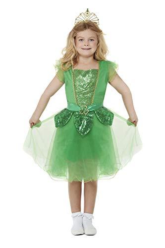 Smiffys 55052M Deluxe St Patrick's Day Glitzerfee-Kostüm, Jungen, grün, M-7-9 Years