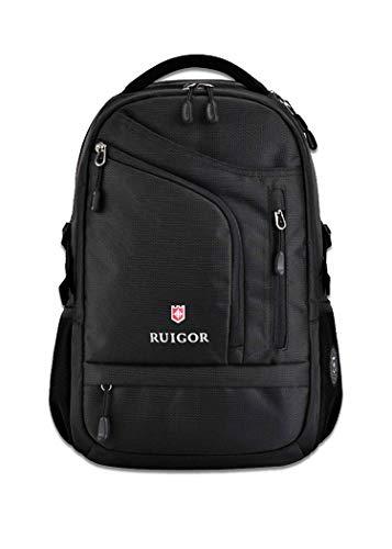 RUIGOR ICON 08 Wanderrucksack, Business Laptoprucksack, Arbeitsrucksack, wasserabweisend 32l Alltagsrucksack 15 Zoll Laptopfach mit Harter Abdeckung RG9508