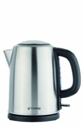 grossag WK 68 Wasserkocher, 1.2 liters, Edelstahl gebürstet