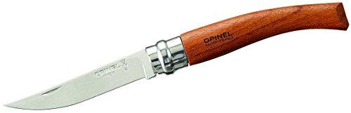 Opinel Slim-Line, Größe 10, rostfrei, bébénga-Holz