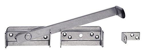 Connex Gartendoppeltor-Überwurf 325 x 54 mm, Edelstahl, DY2901671
