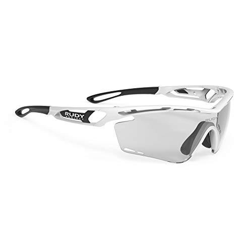 Rudy Project Tralyx Brille White Gloss - impactx photochromic 2 Black 2021 Fahrradbrille