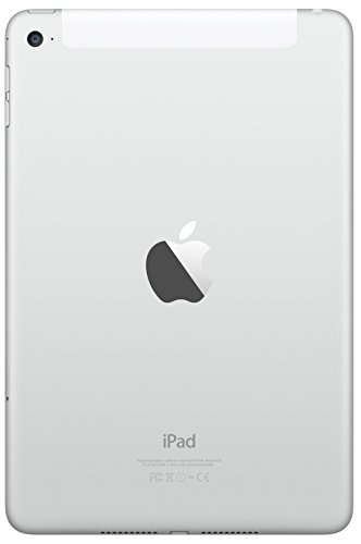 Apple iPad mini 4 (64GB, Wi-Fi + Cellular, Silver)