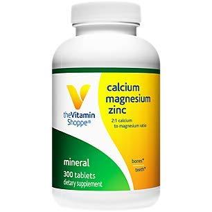 CalciumMagnesiumZinc with Vitamin D Supports Healthy Bones (300 Tablets) Missouri