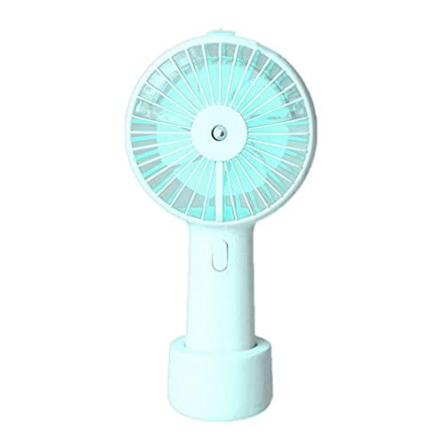 Ventilador de Niebla de pulverización de Agua portátil eléctrico USB Recargable de Mano Mini Ventilador de refrigeración humidificador de Aire Acondicionado