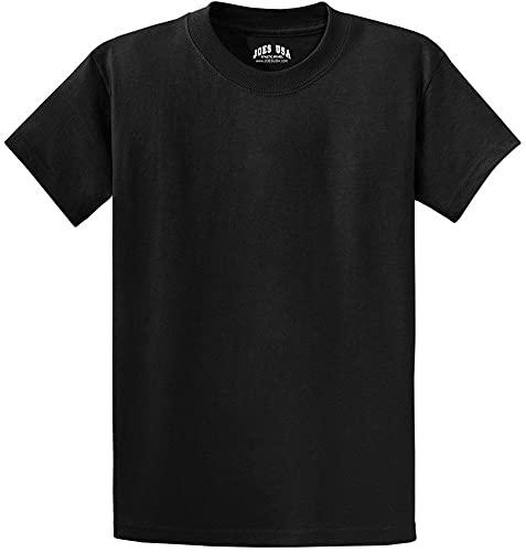 Joe's USA - Tall Heavyweight Cotton T-Shirts in...