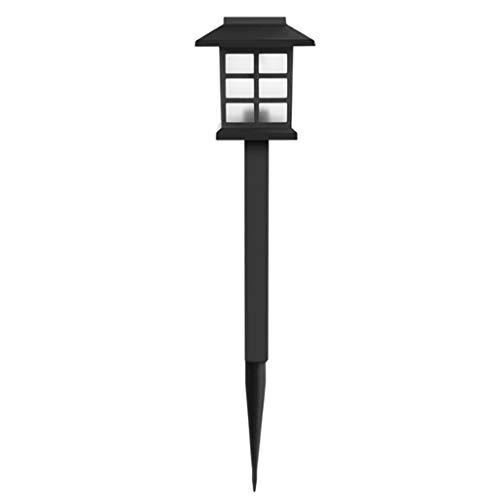 Gazechimp 1x Luces LED de Estaca de Tierra de Jardín de de Luz de Paisaje para Patio Al Aire Libre - Blanco cálido