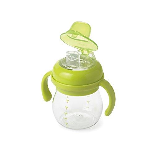 Oxo drinkbeker met snabelopzetstuk voor kleine kinderen 170,49 ml met handgrepen. 6 Ounce groen