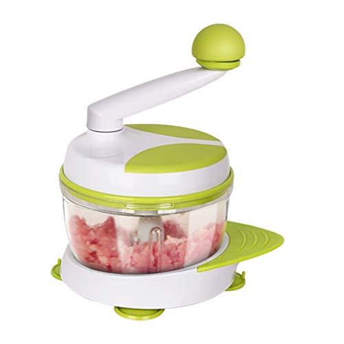 Jiamuxiangsi rasp keuken handmatige keukenmachine vleesmolen groente chopper met handslinger en 3 messen groentesnijder