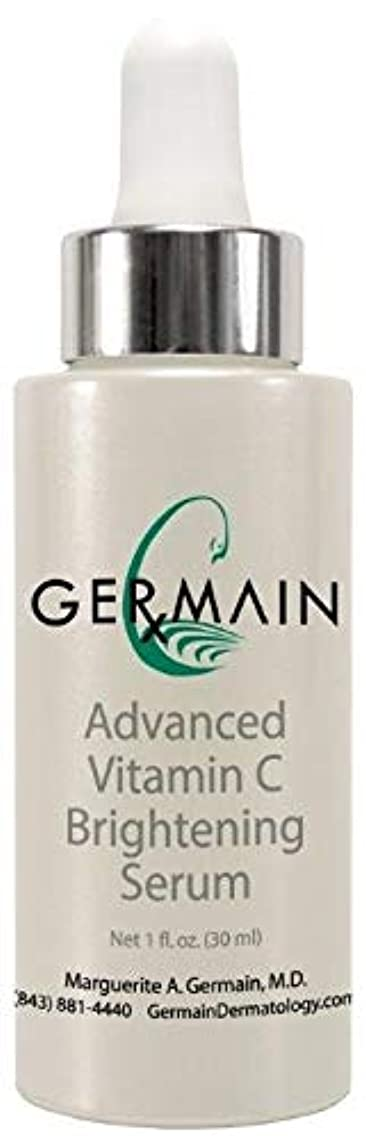 Germain Rx Advanced Vitamin C Brightening Serum Boosts Antioxidant Levels, Helps Promote the Natural Production of Collagen and Fights Aging with CoQ10