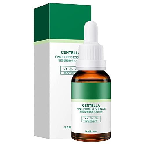 Gtytrxi Extracto de Centella Asiatica,Extracto Facial Serum Cuidado Facial Hidratante Reafirmante Esencia,Reduce las arrugas y el círculo oscuro