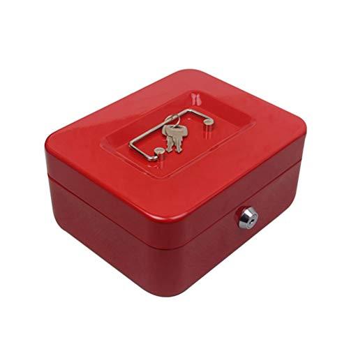 VOSAREA Caja Segura portátil Caja de Ahorro del Banco de