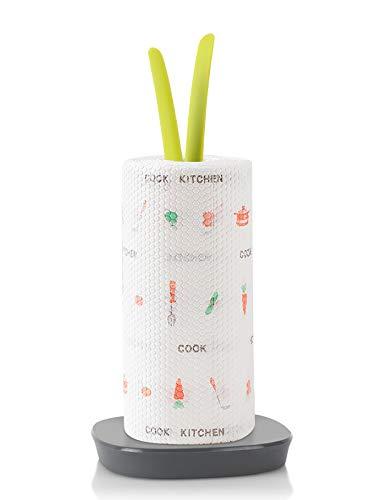 SOLEDI Küchenrollenhalter Stehend Dekorativer Papierhandtuchhalter, Kreativer Vertikaler Papierhalter, Toilettenpapierhandtuchhalter, Geeignet für Wohnküche