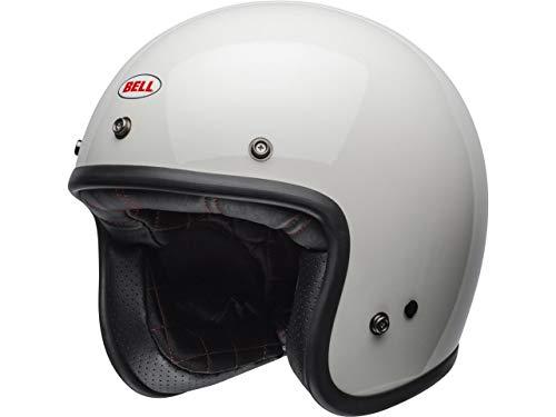 Bell Custom 500 Solid Helmet, Hombre, Vintage White, XL